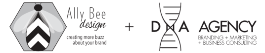 Ally Bee Design + DNA Agency: Branding + Marketing + Business Consulting