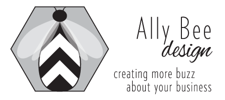 Ally Bee Design, creating more buzz about your business